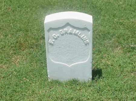 GRAMLING (VETERAN UNION), F C - Pulaski County, Arkansas | F C GRAMLING (VETERAN UNION) - Arkansas Gravestone Photos