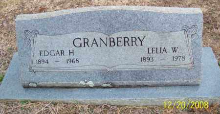 GRANBERRY, EDGAR HODGES - Pulaski County, Arkansas | EDGAR HODGES GRANBERRY - Arkansas Gravestone Photos