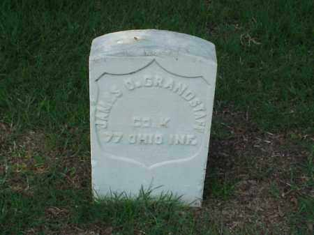 GRANDSTAFF (VETERAN UNION), JAMES O - Pulaski County, Arkansas | JAMES O GRANDSTAFF (VETERAN UNION) - Arkansas Gravestone Photos