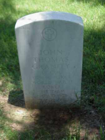 GRANITY (VETERAN 3 WARS), JOHN THOMAS - Pulaski County, Arkansas | JOHN THOMAS GRANITY (VETERAN 3 WARS) - Arkansas Gravestone Photos