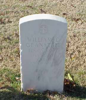 GRANSTAFF  (VETERAN WWI), WILLIAM E - Pulaski County, Arkansas | WILLIAM E GRANSTAFF  (VETERAN WWI) - Arkansas Gravestone Photos