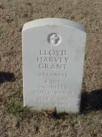 GRANT  (VETERAN WWII), LLOYD HARVEY - Pulaski County, Arkansas | LLOYD HARVEY GRANT  (VETERAN WWII) - Arkansas Gravestone Photos