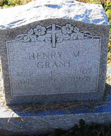 GRANT, HENRY M - Pulaski County, Arkansas   HENRY M GRANT - Arkansas Gravestone Photos