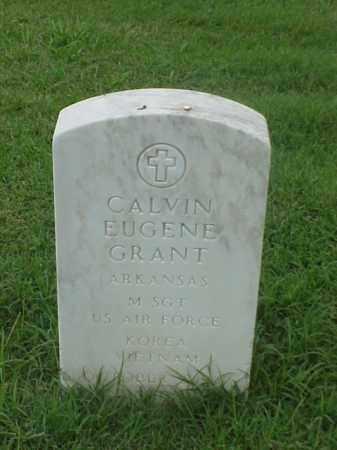 GRANT (VETERAN 2 WARS), CALVIN EUGENE - Pulaski County, Arkansas | CALVIN EUGENE GRANT (VETERAN 2 WARS) - Arkansas Gravestone Photos