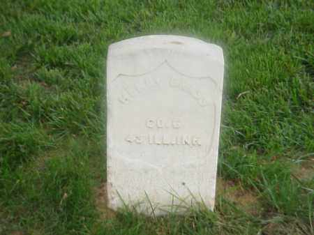 GRASS (VETERAN UNION), HENRY - Pulaski County, Arkansas | HENRY GRASS (VETERAN UNION) - Arkansas Gravestone Photos