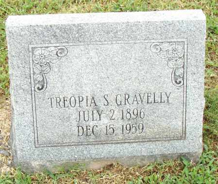 GRAVELLY, TREOPIA S. - Pulaski County, Arkansas | TREOPIA S. GRAVELLY - Arkansas Gravestone Photos