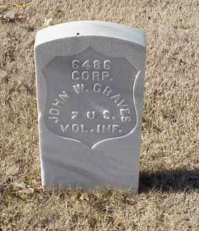 GRAVES  (VETERAN SAW), JOHN W - Pulaski County, Arkansas | JOHN W GRAVES  (VETERAN SAW) - Arkansas Gravestone Photos