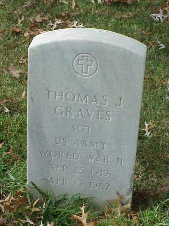 GRAVES  (VETERAN WWII), THOMAS J - Pulaski County, Arkansas | THOMAS J GRAVES  (VETERAN WWII) - Arkansas Gravestone Photos