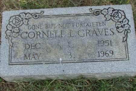 GRAVES, CORNELL  L. - Pulaski County, Arkansas | CORNELL  L. GRAVES - Arkansas Gravestone Photos