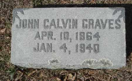 GRAVES, JOHN CALVIN - Pulaski County, Arkansas | JOHN CALVIN GRAVES - Arkansas Gravestone Photos