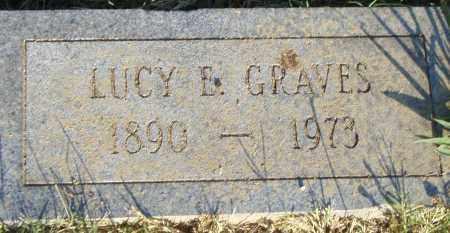 GRAVES, LUCY  E. - Pulaski County, Arkansas | LUCY  E. GRAVES - Arkansas Gravestone Photos