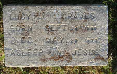 GRAVES, LUCY - Pulaski County, Arkansas | LUCY GRAVES - Arkansas Gravestone Photos