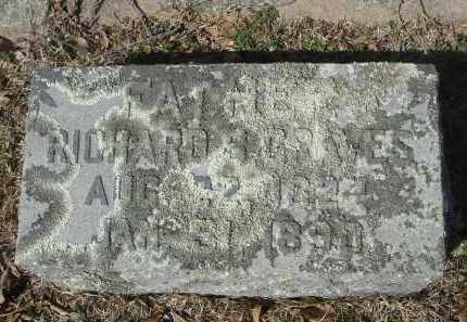 GRAVES, RICHARD BENJAMIN - Pulaski County, Arkansas | RICHARD BENJAMIN GRAVES - Arkansas Gravestone Photos