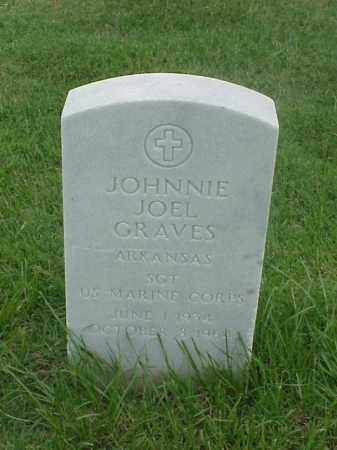 GRAVES (VETERAN), JOHNNIE JOEL - Pulaski County, Arkansas | JOHNNIE JOEL GRAVES (VETERAN) - Arkansas Gravestone Photos
