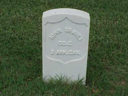 GRAVES (VETERAN UNION), JOHN - Pulaski County, Arkansas | JOHN GRAVES (VETERAN UNION) - Arkansas Gravestone Photos