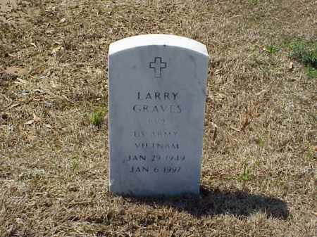 GRAVES (VETERAN VIET), LARRY T - Pulaski County, Arkansas | LARRY T GRAVES (VETERAN VIET) - Arkansas Gravestone Photos