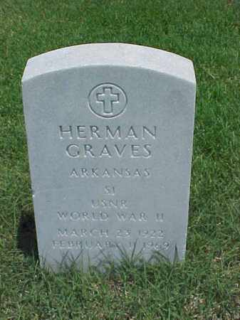 GRAVES (VETERAN WWII), HERMAN - Pulaski County, Arkansas | HERMAN GRAVES (VETERAN WWII) - Arkansas Gravestone Photos