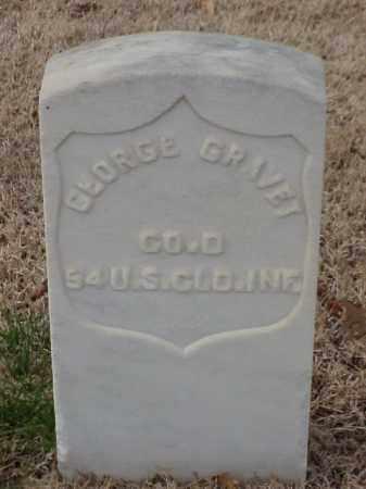 GRAVET  (VETERAN UNION), GEORGE - Pulaski County, Arkansas | GEORGE GRAVET  (VETERAN UNION) - Arkansas Gravestone Photos