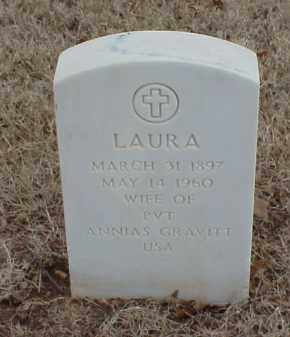 GRAVITT, LAURA - Pulaski County, Arkansas | LAURA GRAVITT - Arkansas Gravestone Photos