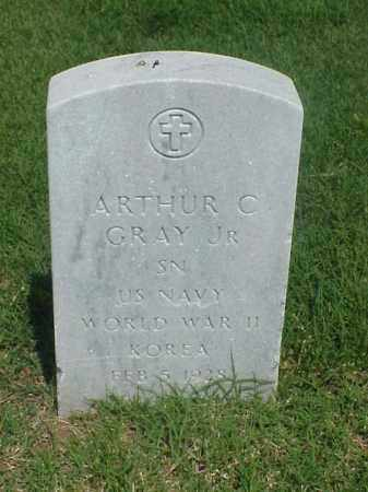 GRAY, JR (VETERAN 2 WARS), ARTHUR C - Pulaski County, Arkansas | ARTHUR C GRAY, JR (VETERAN 2 WARS) - Arkansas Gravestone Photos