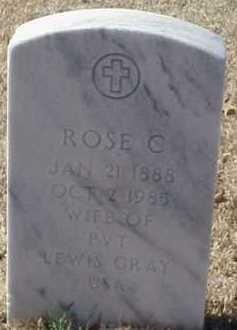 GRAY, ROSE C - Pulaski County, Arkansas | ROSE C GRAY - Arkansas Gravestone Photos