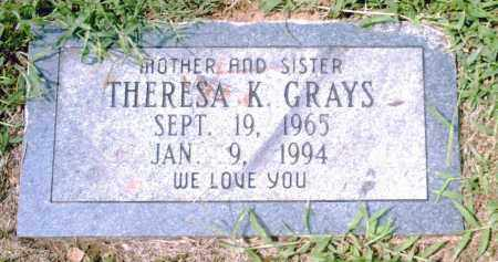 GRAYS, THERESA K. - Pulaski County, Arkansas | THERESA K. GRAYS - Arkansas Gravestone Photos
