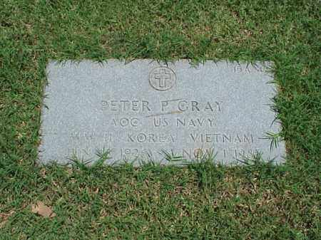 GRAY (VETERAN 3 WARS), PETER P - Pulaski County, Arkansas | PETER P GRAY (VETERAN 3 WARS) - Arkansas Gravestone Photos