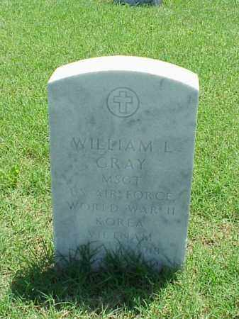 GRAY (VETERAN 3 WARS), WILLIAM L - Pulaski County, Arkansas | WILLIAM L GRAY (VETERAN 3 WARS) - Arkansas Gravestone Photos