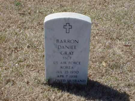 GRAY (VETERAN KOR), BARRON DANIEL - Pulaski County, Arkansas | BARRON DANIEL GRAY (VETERAN KOR) - Arkansas Gravestone Photos