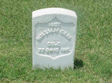 GRAY (VETERAN UNION), WILLIAM - Pulaski County, Arkansas | WILLIAM GRAY (VETERAN UNION) - Arkansas Gravestone Photos