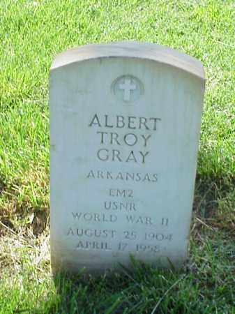 GRAY (VETERAN WWII), ALBERT TROY - Pulaski County, Arkansas | ALBERT TROY GRAY (VETERAN WWII) - Arkansas Gravestone Photos