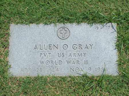 GRAY (VETERAN WWII), ALLEN O - Pulaski County, Arkansas | ALLEN O GRAY (VETERAN WWII) - Arkansas Gravestone Photos