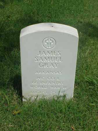 GRAY (VETERAN WWII), JAMES SAMUEL - Pulaski County, Arkansas | JAMES SAMUEL GRAY (VETERAN WWII) - Arkansas Gravestone Photos