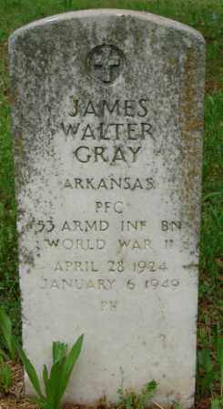 GRAY (VETERAN WWII), JAMES WALTER - Pulaski County, Arkansas | JAMES WALTER GRAY (VETERAN WWII) - Arkansas Gravestone Photos
