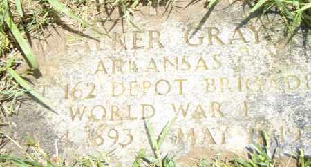 GRAY  (VETERAN WWI), WALKER - Pulaski County, Arkansas | WALKER GRAY  (VETERAN WWI) - Arkansas Gravestone Photos