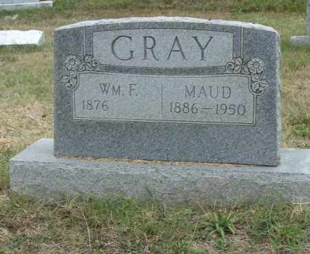 GRAY, WM. F. - Pulaski County, Arkansas | WM. F. GRAY - Arkansas Gravestone Photos
