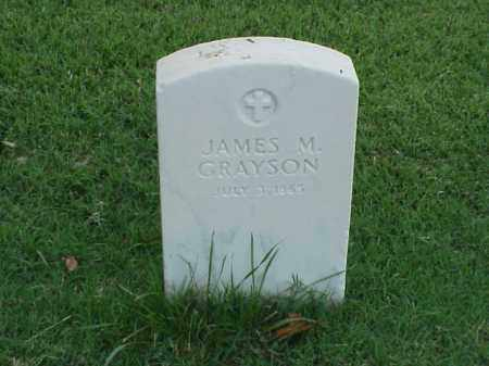 GRAYSON, JAMES M - Pulaski County, Arkansas | JAMES M GRAYSON - Arkansas Gravestone Photos