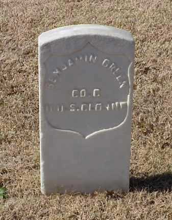 GREEN  (VETERAN UNION), BENJAMIN - Pulaski County, Arkansas | BENJAMIN GREEN  (VETERAN UNION) - Arkansas Gravestone Photos