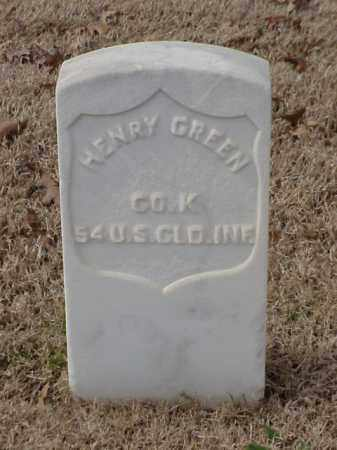 GREEN  (VETERAN UNION), HENRY - Pulaski County, Arkansas | HENRY GREEN  (VETERAN UNION) - Arkansas Gravestone Photos