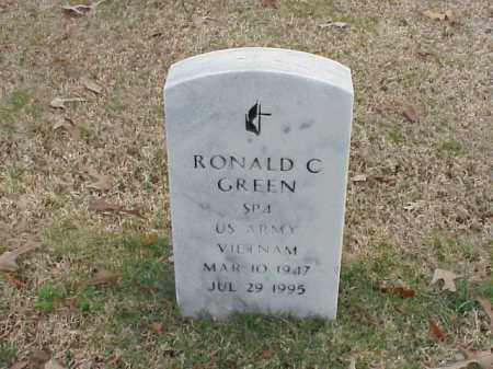 GREEN  (VETERAN VIET), RONALD C - Pulaski County, Arkansas | RONALD C GREEN  (VETERAN VIET) - Arkansas Gravestone Photos
