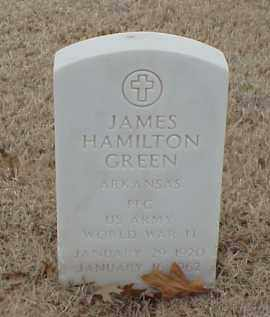 GREEN  (VETERAN WWII), JAMES HAMILTON - Pulaski County, Arkansas | JAMES HAMILTON GREEN  (VETERAN WWII) - Arkansas Gravestone Photos