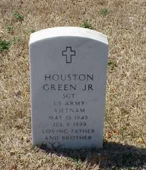 GREEN, JR (VETERAN VIET), HOUSTON - Pulaski County, Arkansas | HOUSTON GREEN, JR (VETERAN VIET) - Arkansas Gravestone Photos