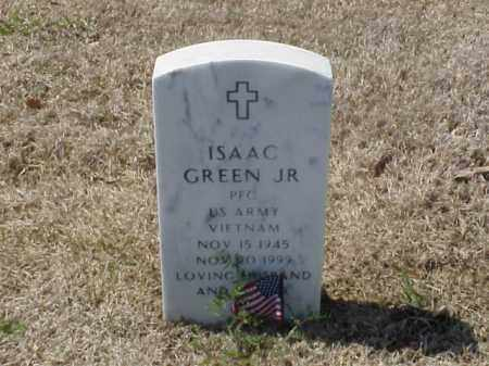 GREEN, JR (VETERAN VIET), ISAAC - Pulaski County, Arkansas | ISAAC GREEN, JR (VETERAN VIET) - Arkansas Gravestone Photos