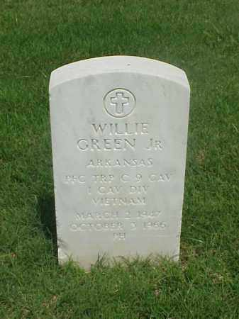 GREEN JR (VETERAN VIET), WILLIE - Pulaski County, Arkansas | WILLIE GREEN JR (VETERAN VIET) - Arkansas Gravestone Photos