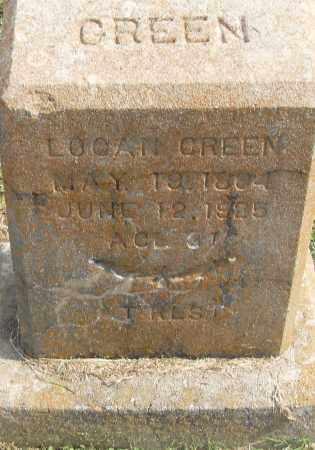 GREEN, LOGAN - Pulaski County, Arkansas | LOGAN GREEN - Arkansas Gravestone Photos