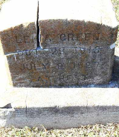 GREEN, LENA - Pulaski County, Arkansas | LENA GREEN - Arkansas Gravestone Photos