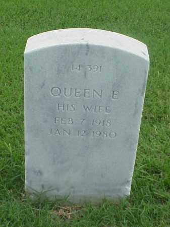 GREEN, QUEEN E - Pulaski County, Arkansas | QUEEN E GREEN - Arkansas Gravestone Photos