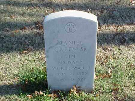 GREEN, SR  (VETERAN WWII), DANIEL - Pulaski County, Arkansas | DANIEL GREEN, SR  (VETERAN WWII) - Arkansas Gravestone Photos