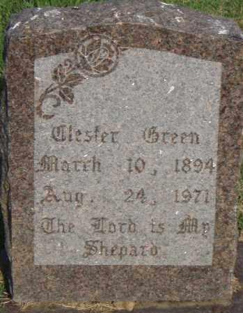 GREEN, TLESTER - Pulaski County, Arkansas | TLESTER GREEN - Arkansas Gravestone Photos