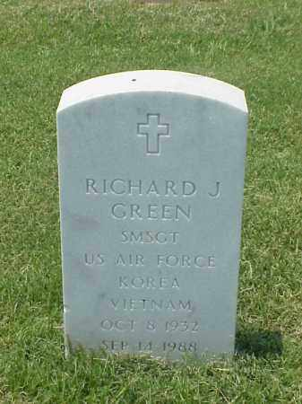 GREEN (VETERAN 2 WARS), RICHARD J - Pulaski County, Arkansas | RICHARD J GREEN (VETERAN 2 WARS) - Arkansas Gravestone Photos